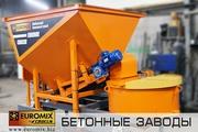 Мобильный мини-бетонный завод EUROMIX CROCUS 5/200
