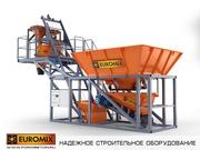 Мобильный бетонный завод EUROMIX CROCUS 20/500.2.5 COMPACT 2