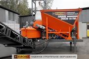 Мобильный бетонный завод EUROMIX CROCUS 15/750