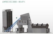 Мобильный бетонозавод LINTEC CC 2000 – 80 м³/ч